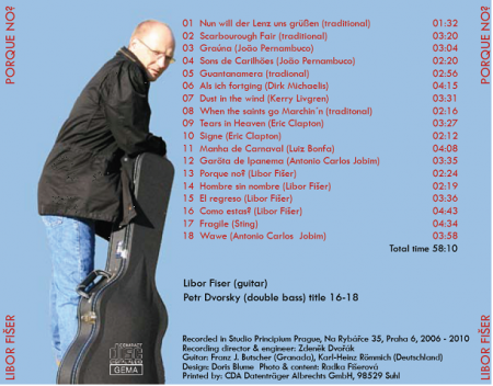 Die neue CD Porque no?